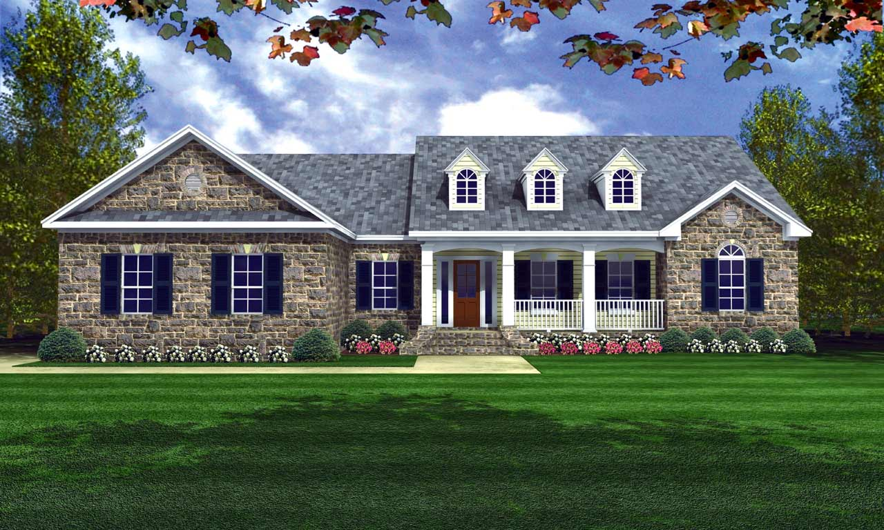 Southern Style House Plans Plan: 2-207