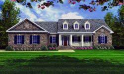 Southern Style Home Design Plan: 2-207