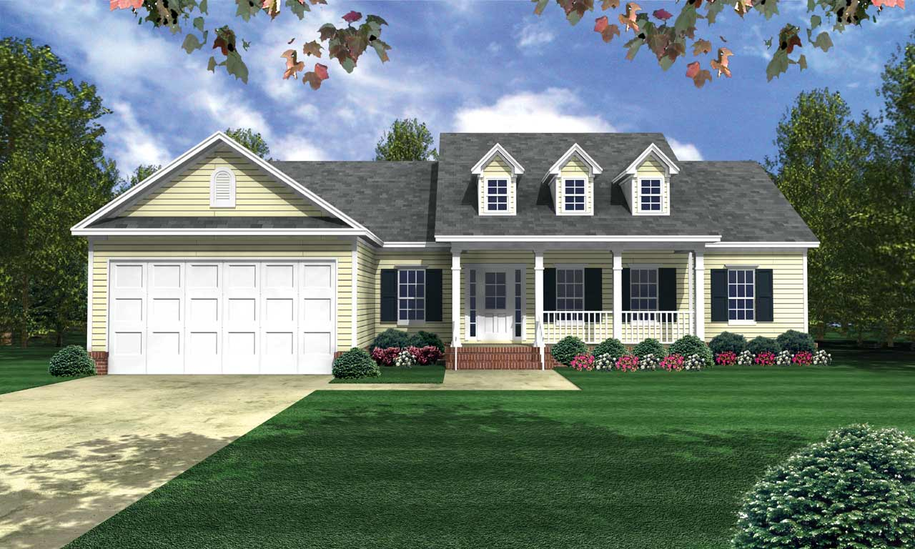 Southern Style House Plans Plan: 2-208