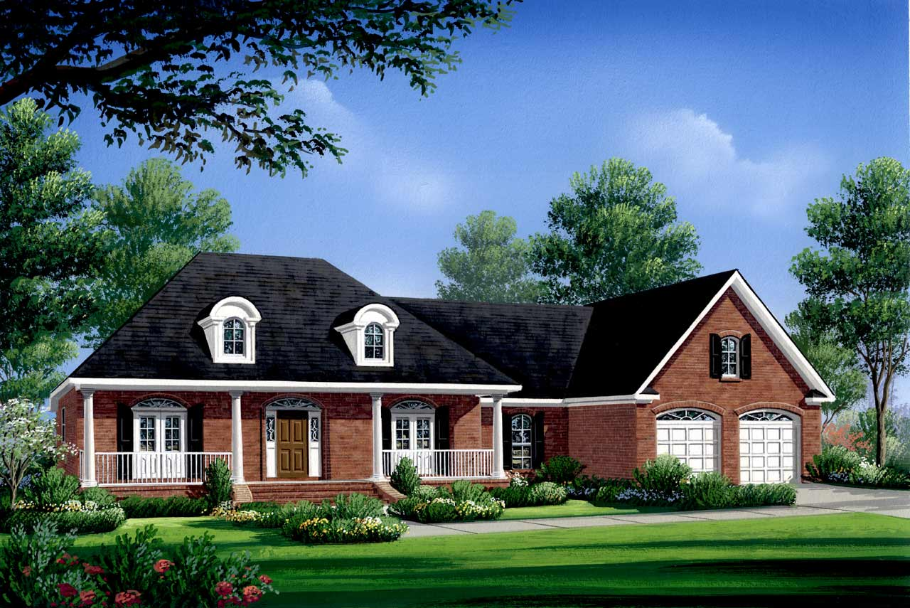 Southern Style Floor Plans Plan: 2-209