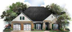 Traditional Style House Plans Plan: 2-211