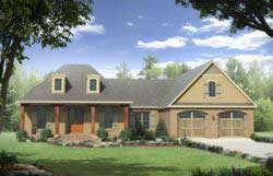 Country Style House Plans 2-212