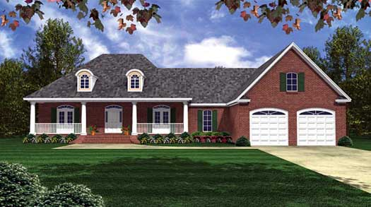 Southern Style House Plans Plan: 2-218