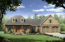 Country Style House Plans 2-220