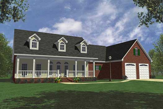 Southern Style House Plans Plan: 2-226