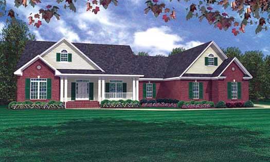 Ranch Style Floor Plans Plan: 2-227