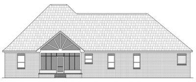 Rear Elevation Plan: 2-228