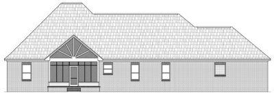 Rear Elevation Plan: 2-229