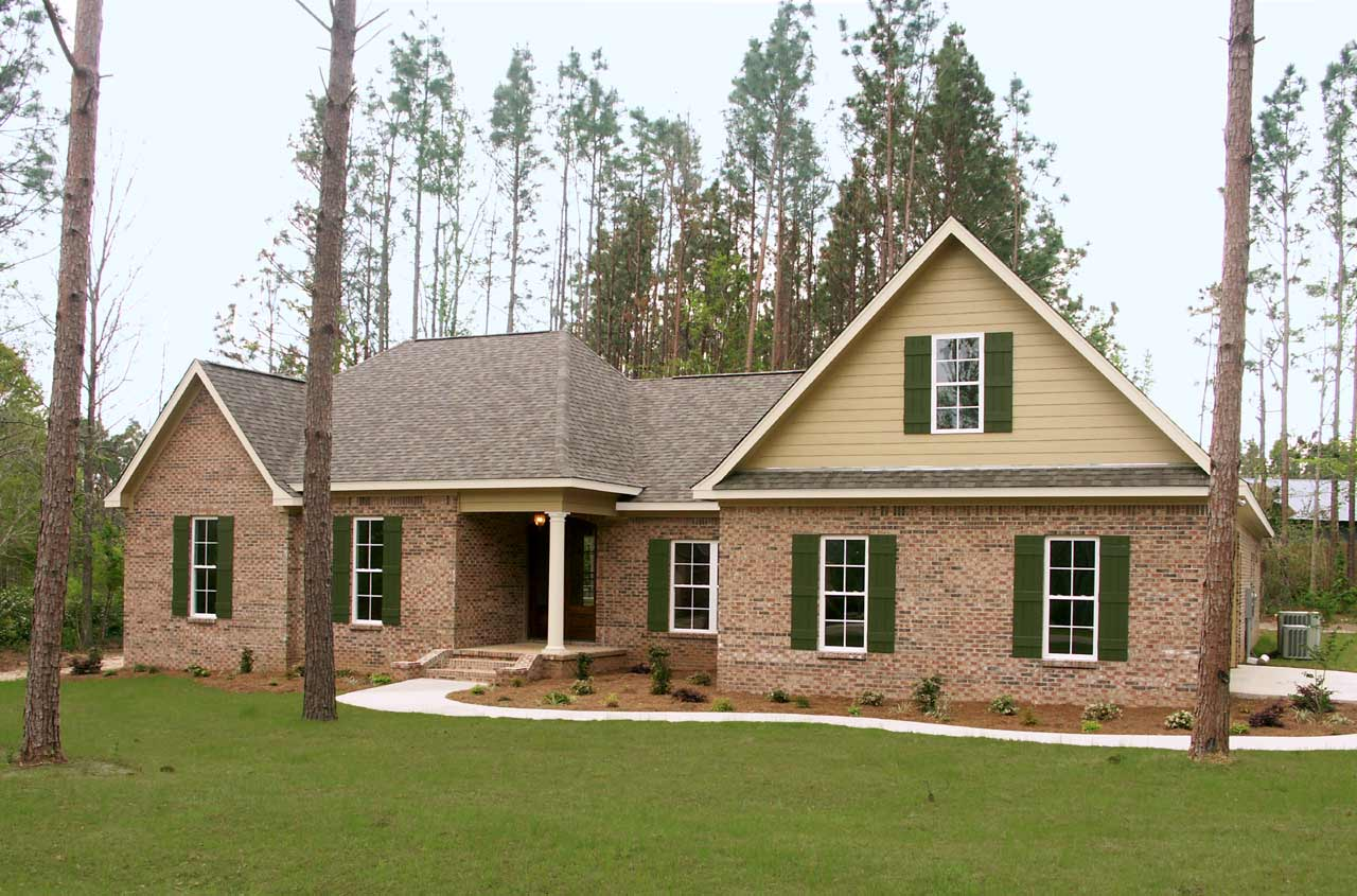 Traditional Style House Plans Plan: 2-230