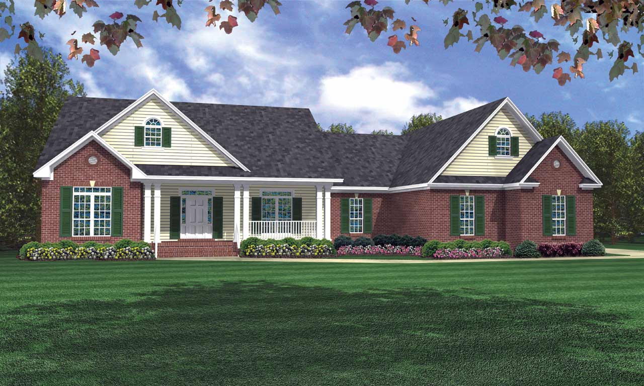 Traditional Style Floor Plans Plan: 2-232
