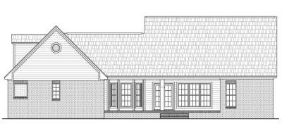 Rear Elevation Plan: 2-233
