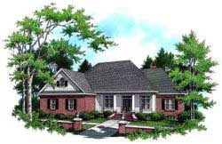 Country Style House Plans Plan: 2-237