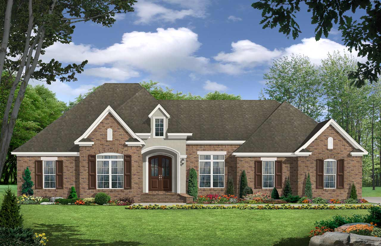 Traditional Style Floor Plans Plan: 2-240