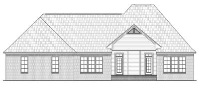 Rear Elevations Plan:2-240