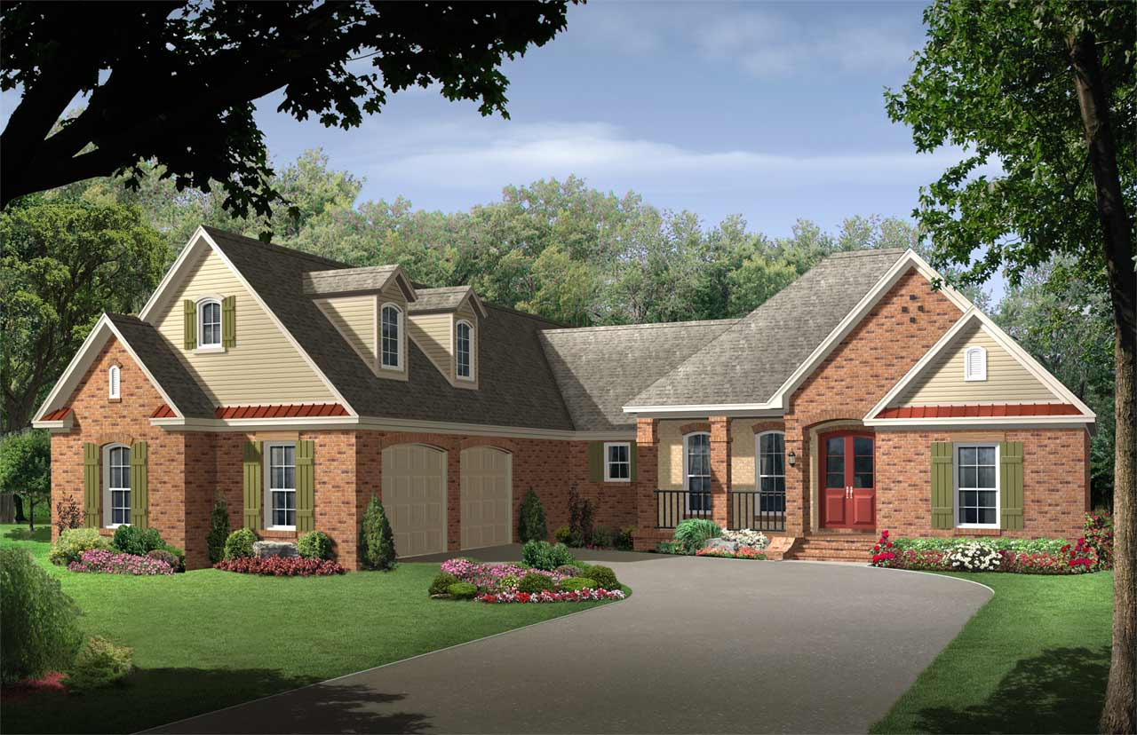 Traditional Style Floor Plans 2-241