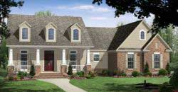 Country Style House Plans 2-242