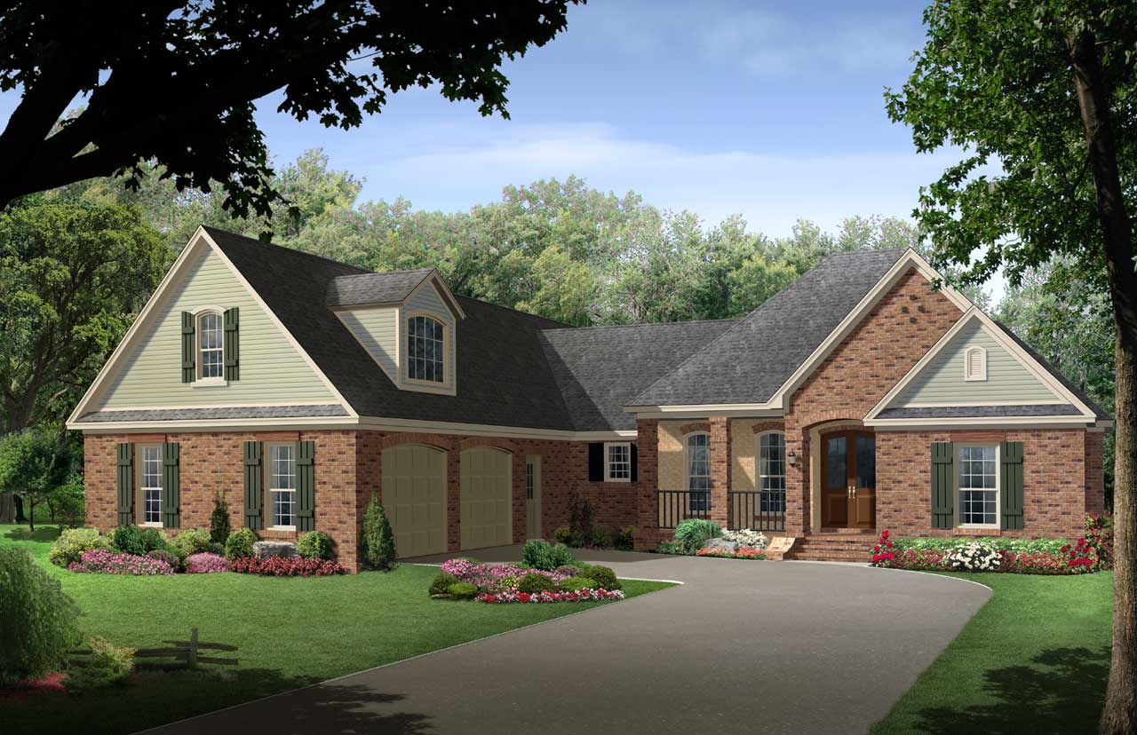 Traditional Style Floor Plans Plan: 2-243