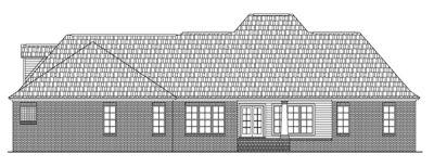 Rear Elevation Plan: 2-248
