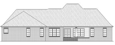 Rear Elevation Plan: 2-249