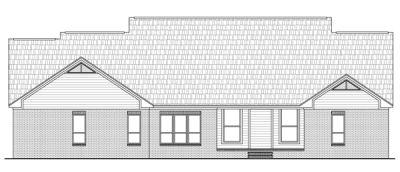 Rear Elevation Plan: 2-251