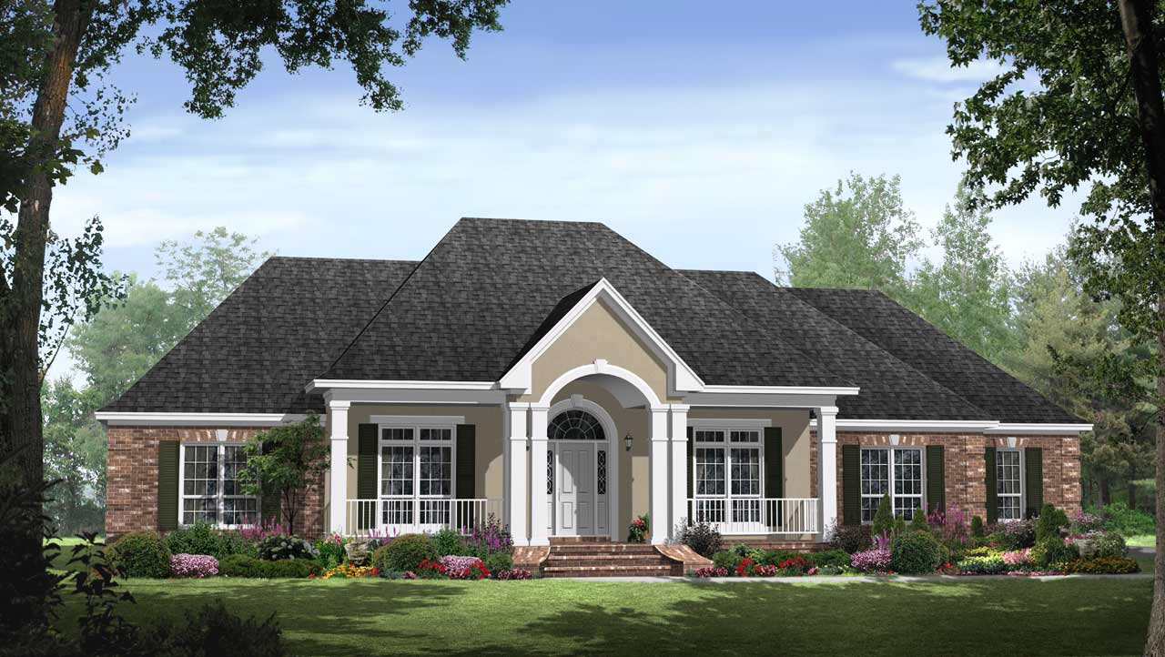 Southern Style Floor Plans Plan: 2-252