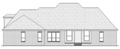 Rear Elevation Plan: 2-252