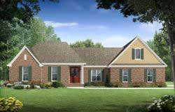 Southern Style House Plans 2-256