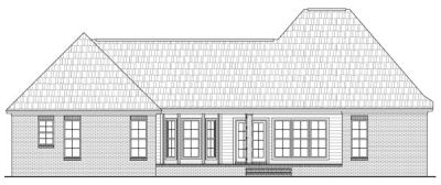 Rear Elevation Plan: 2-258