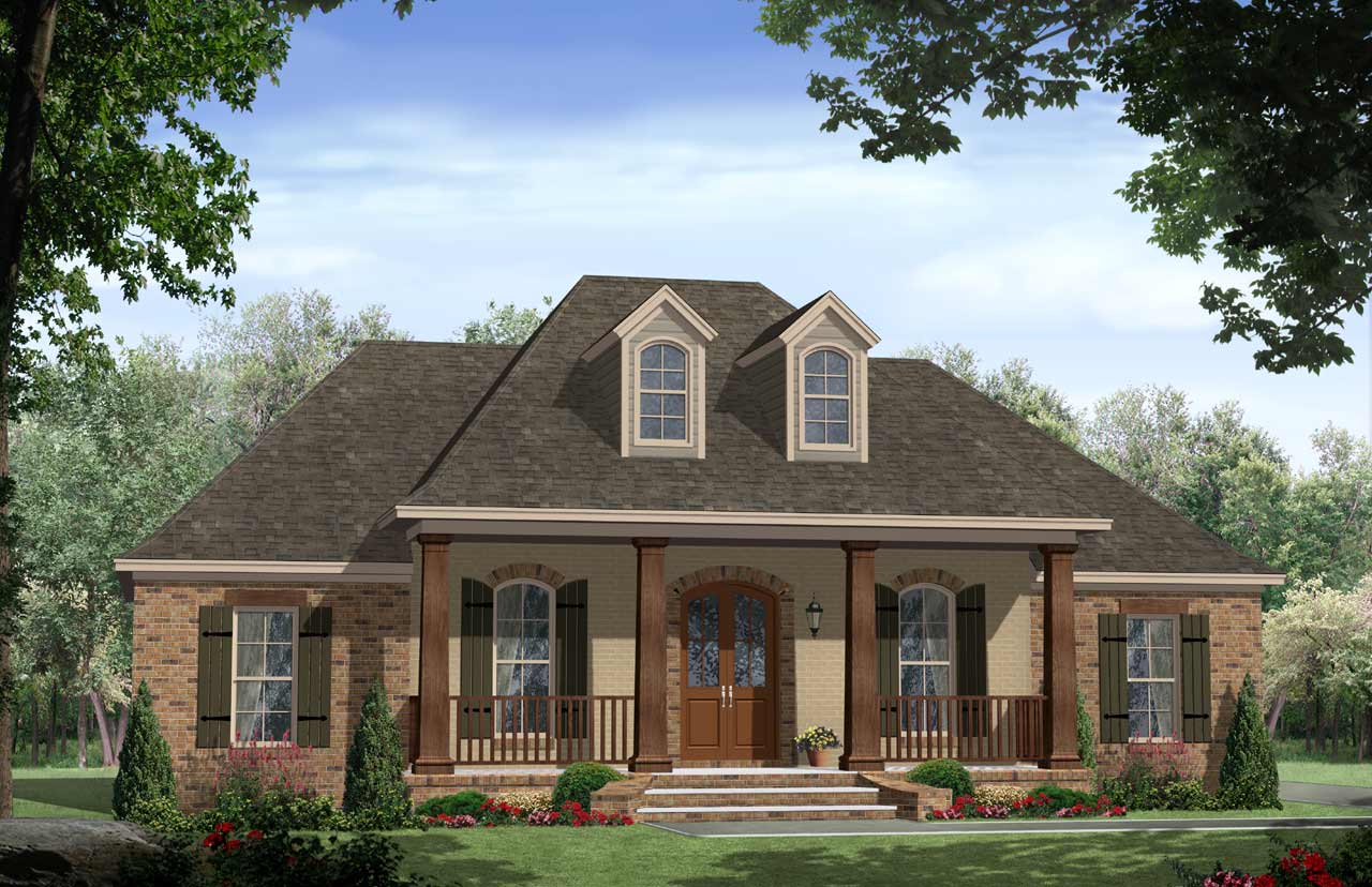 Southern Style House Plans Plan: 2-260
