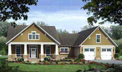 Craftsman Style Floor Plans Plan: 2-264