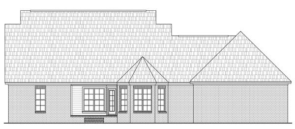 Rear Elevation Plan: 2-265