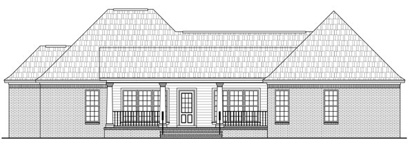Rear Elevations Plan:2-267