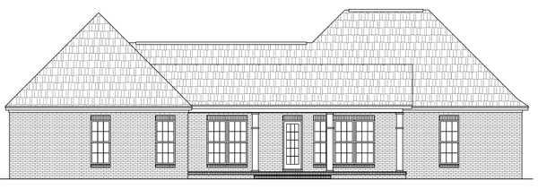Rear Elevation Plan: 2-271