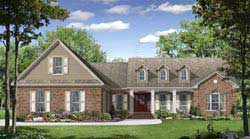 Southern Style Floor Plans Plan: 2-277
