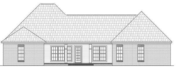 Rear Elevation Plan: 2-279