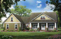 Bungalow Style House Plans 2-280