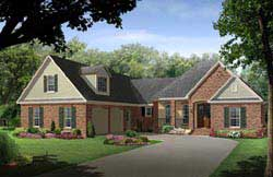 Traditional Style House Plans Plan: 2-288