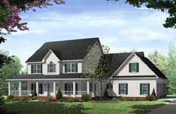 Farm Style House Plans Plan: 2-292