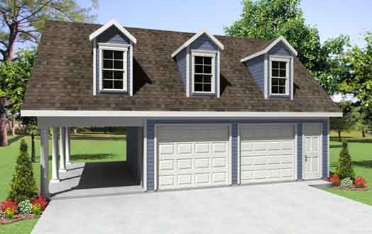 Country Style House Plans Plan: 2-293