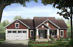 Craftsman Style House Plans Plan: 2-295
