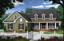 Country Style House Plans Plan: 2-298