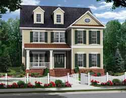 Southern-Colonial Style House Plans Plan: 2-300