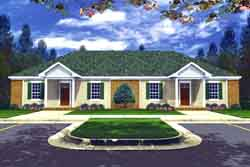 Traditional Style Floor Plans Plan: 2-301