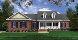 Southern Style Floor Plans Plan: 2-308
