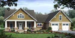 Craftsman Style House Plans Plan: 2-311