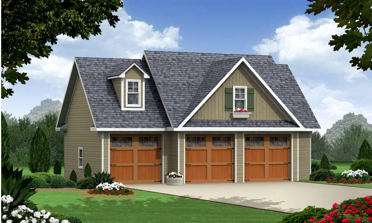 Country Style Home Design Plan: 2-315