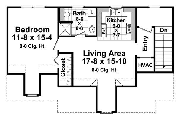 Upper/Second Floor Plan: 2-315