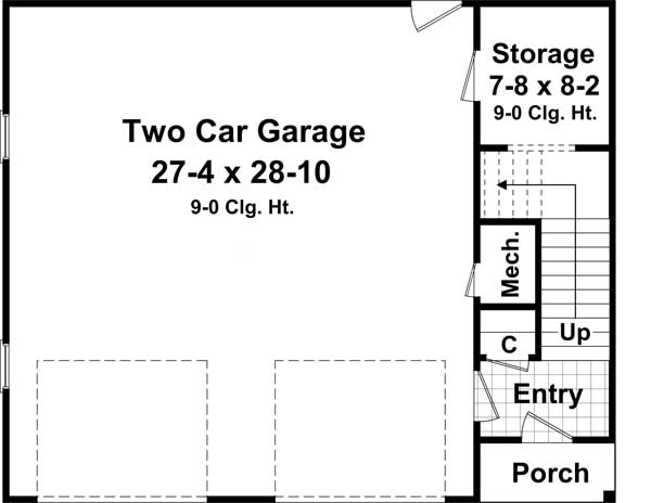 Main Floor Plan: 2-316