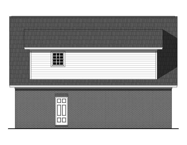 Rear Elevation Plan: 2-316
