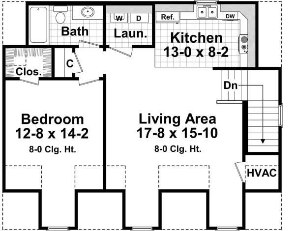 Upper/Second Floor Plan: 2-316